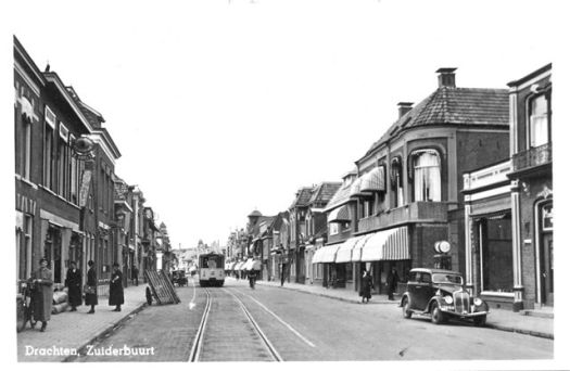 Street photo, Drachten, 1951