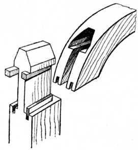 Hammer-Head Tenon Joint