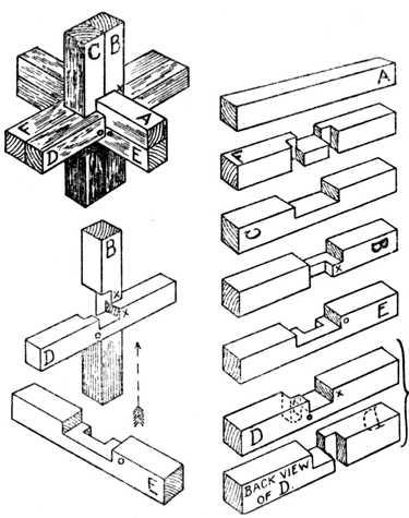 Six-piece Joint Puzzle