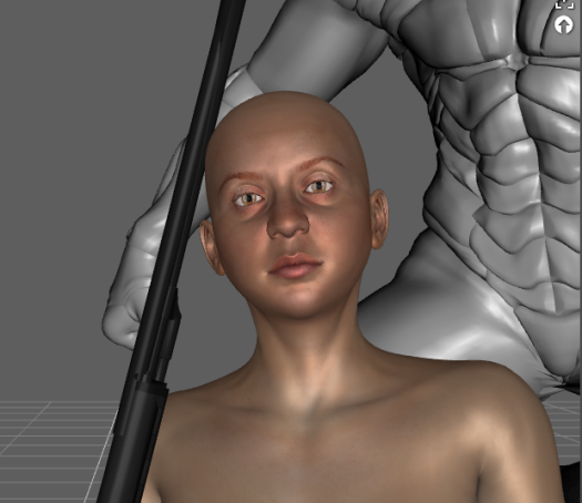 Face , Daz3D